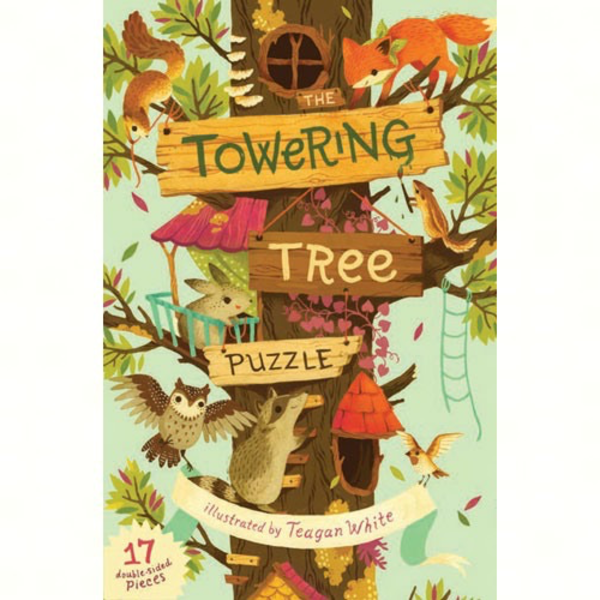 - CHRONICLE BOOKS: THE TOWERING TREE PUZZLE