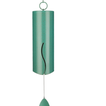 "- REGAL WIND BELL 6"" LONG PATINA"
