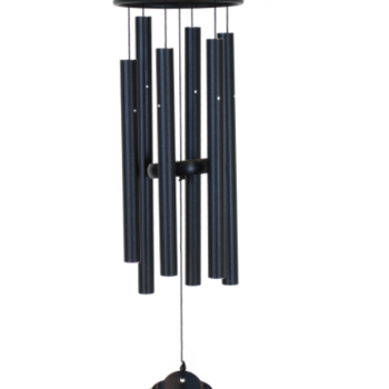 "- MAJESTY BELLS OF VIENNA CHIMES 32"" BLACK"