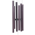 "- MAJESTY BELLS GENTLE SPIRITS CHIMES 59"" PLUM"
