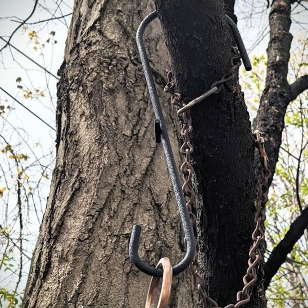"- BILL'S HOOKUMS 12"" BRANCH HOOK"