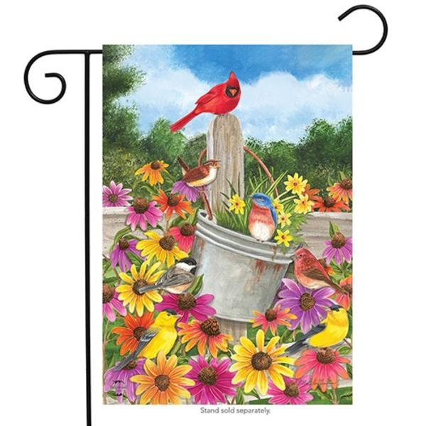 - BRIARWOOD LANE SPRING GATHERING GARDEN FLAG