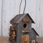 - NATURE CREATIONS BARN WOOD MILL BIRD HOUSE #22 NATURAL