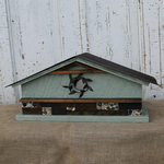 - NATURE CREATIONS BARN WOOD  BIRD HOUSE #67 SAGE