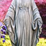 """- MASSARELLIS 33"""" BLESSED MOTHER STATUE"""