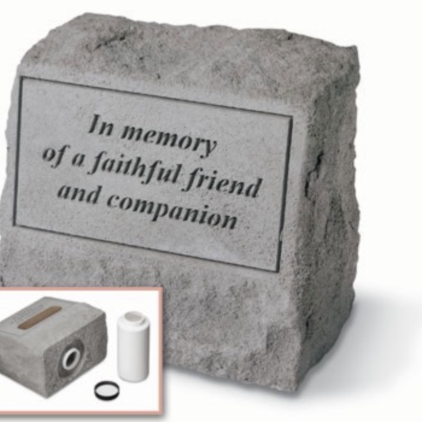 - KAYBERRY IN MEMORY…. HEADSTONE W/URN