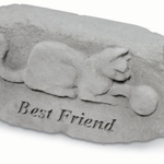 - KAYBERRY BEST FREIND W/CAT MEMORIAL STONE