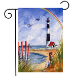 - BRIARWOOD LANE COASTLINE GARDEN FLAG