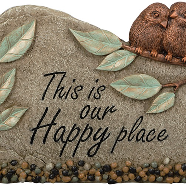 - CARSON HOME ACCENTS HAPPY PLACE GARDEN MARKER