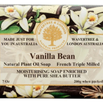 -AUSTRALIAN NATURAL SOAP VANILLA BEAN