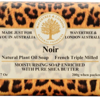 -AUSTRALIAN NATURAL SOAP NOIR