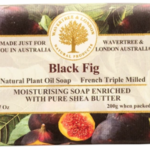 -AUSTRALIAN NATURAL SOAP BLACK FIG