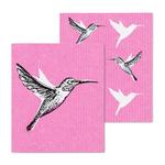 - ABBOTT HUMMINGBIRD SWEDISH DISH CLOTH SET