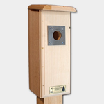 - COVESIDE DOWNY WOODPECKER HOUSE