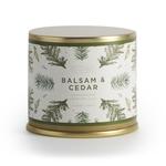- ILLUME SOY CANDLES BALSAM & CEDAR LARGE TIN 11.8 OZ