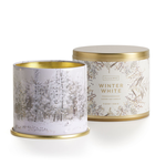 - ILLUME SOY CANDLES WINTER WHITE LARGE TIN 11.8 OZ