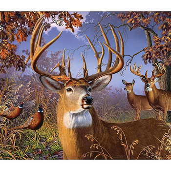 - COBBLE HILL DEER AND PHEASANT PUZZLE 500PC. OM85054