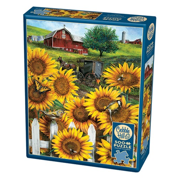 - COBBLE HILL COUNTRY PARADISE PUZZLE 500PC. OM85046