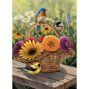 - COBBLE HILL BLUEBIRD & BOUQUET TRAY PUZZLE 35PC OM58886
