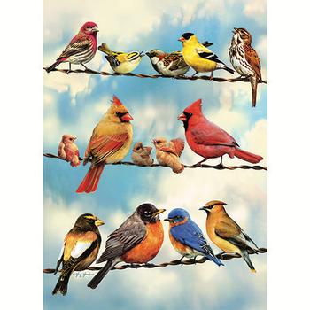 -COBBLE HILL BLUE SKY BIRDS TRAY PUZZLE 35PC OM58888