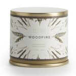 - LLUME SOY CANDLES WOODFIRE LARGE TIN 11.8 OZ