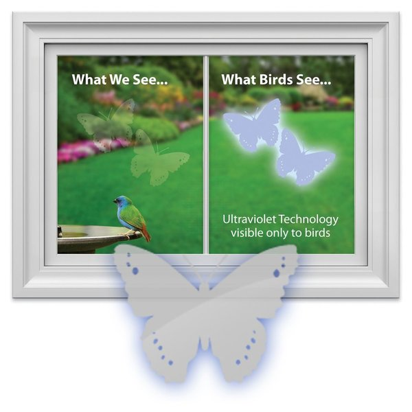- WINDOW ALERT BUTTERFLY DECAL 4 PACK