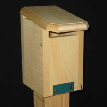 - COVESIDE SPARROW RESISTANT BLUEBIRD HOUSE