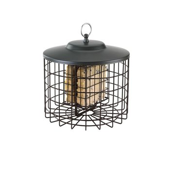 - HIATT SQUIRREL PROOF 2-CAKE SUET CAGE FEEDER