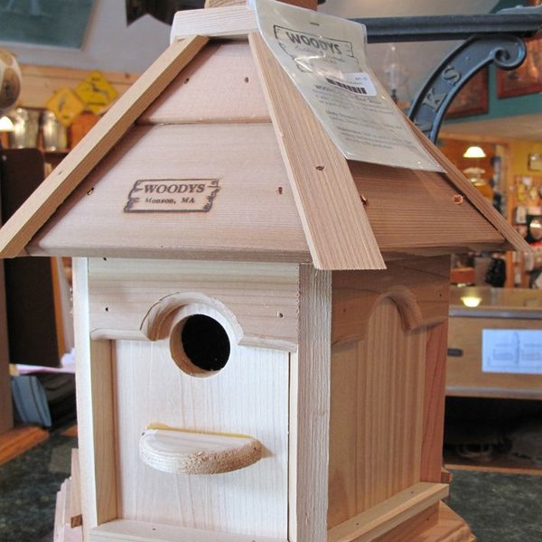 -WOODY'S PLAIN/PLAIN GAZEBO BIRD HOUSE