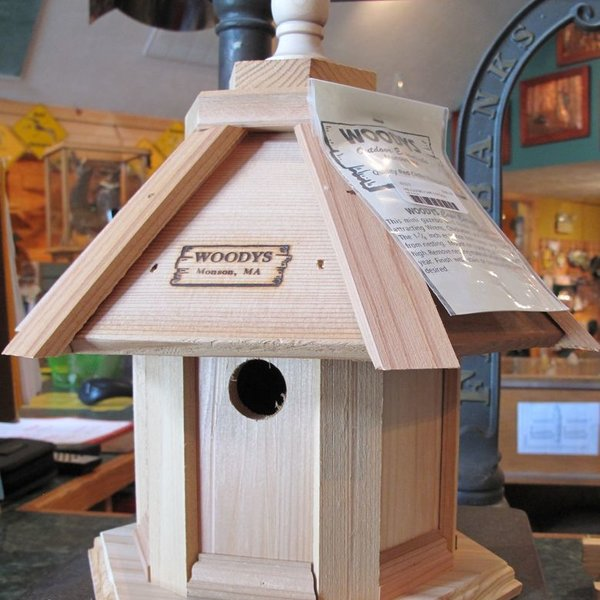 -WOODY'S CAPE COTTAGE SMALL GAZEBO BIRD HOUSE