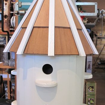 -WOODY'S THE MADISON PAINTED LARGE BIRD HOUSE