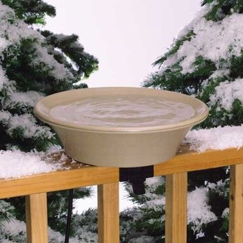 "- 14"" DECK MOUNT EZ TILT HEATED BIRD BATH"