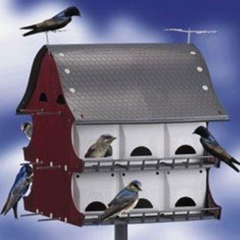 MULTI FAMILY MARTIN & COLONY BIRD HOUSE
