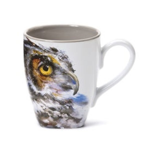 - DEMDACO OWL COFFEE MUG 16OZ