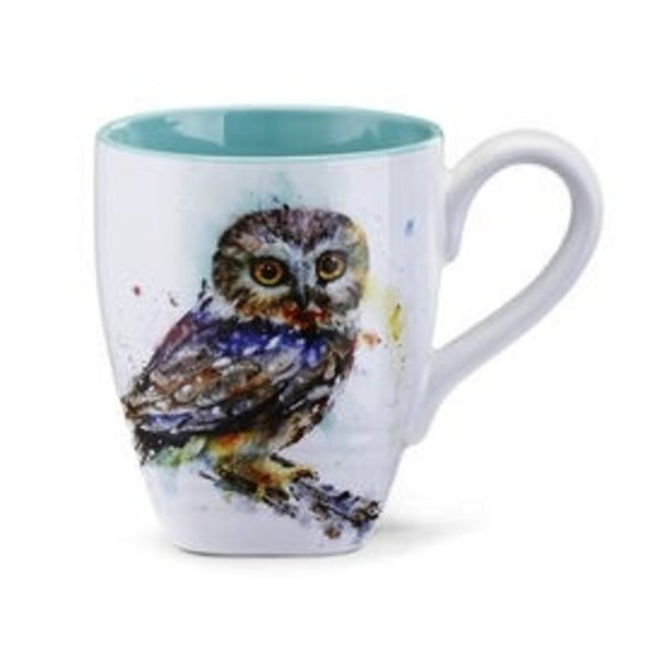 - DEMDACO SAW WHET OWL COFFEE MUG 16OZ