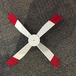 - WALSTON WOODCRAFT <br />REPLACEMENT PROPELLER