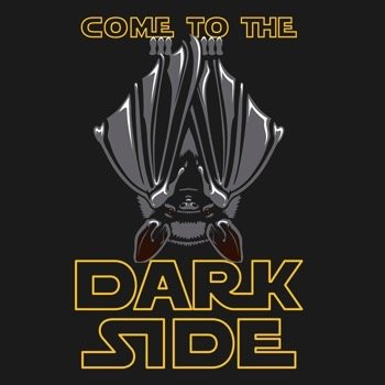 - ESM DARK SIDE BAT TSHIRT