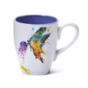 - DEMDACO BUTTERFLY COFFEE MUG 16OZ