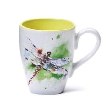 - DEMDACO DRAGONFLY COFFEE MUG 16OZ