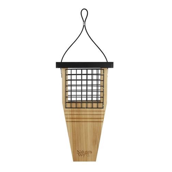- NATURES WAY CEDAR TAIL PROP SUET FEEDER