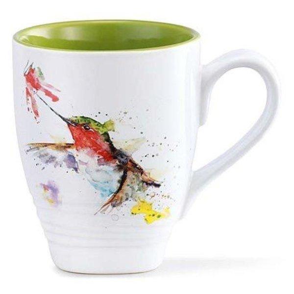 - DEMDACO HUMMER AND FLOWER COFFEE MUG 16OZ