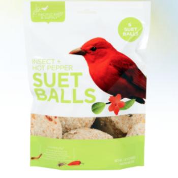 - PACIFIC BIRD INSECT & HOT PEPPER SUET BALLS 6PK