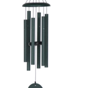 "- WIND RIVER CORINTHIAN CHIMES 30"" GREEN"
