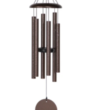 "- WIND RIVER CORINTHIAN CHIMES 30"" COPPER VEIN"