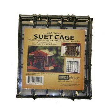 - BIRDS CHOICE STANDARD SUET CAGE W/SCREWS AND CHAIN