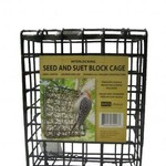 - BIRDS CHOICE LARGE SUET & SEED CAKE CAGE