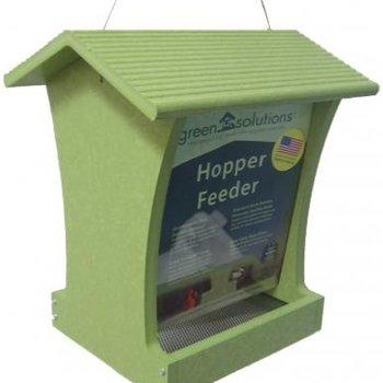 - BIRDS CHOICE 5QT. GREEN SOLUTIONS TALL HOPPER FEEDER