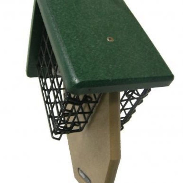 - BIRDS CHOICE RECYCLED DOUBLE TAIL PROP SUET FEEDER