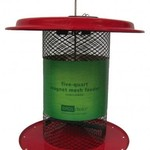 - IRDS CHOICE 5QT. MESH SUNFLOWER FEEDER RED