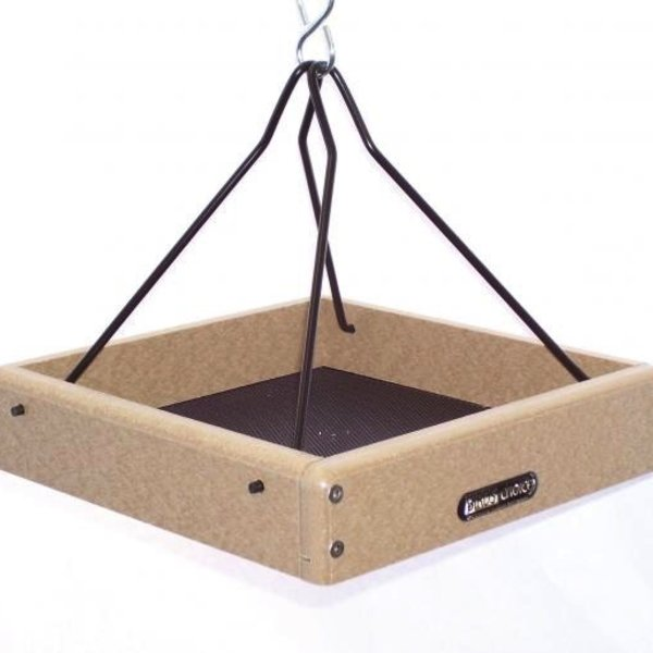 - BIRDS CHOICE RECYCLED 10X10 HANGING TRAY FEEDER